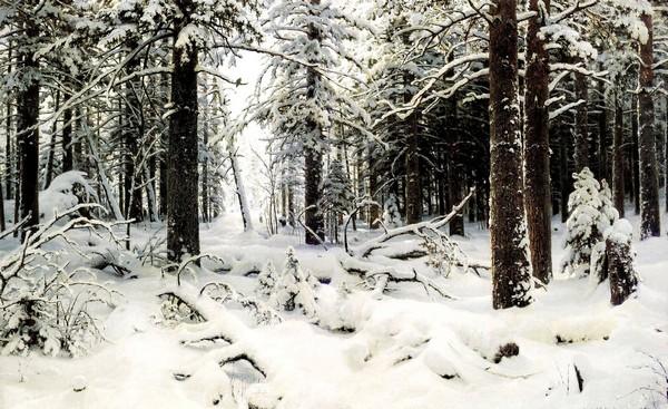 Шишкин «Зима»